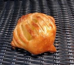 アップルとカスタードのパイ