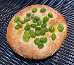 枝豆とコーンのパン