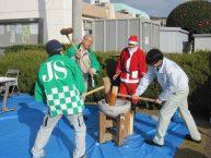 徳力団地で「餅つき大会」を開催しました! 【北九州支店】
